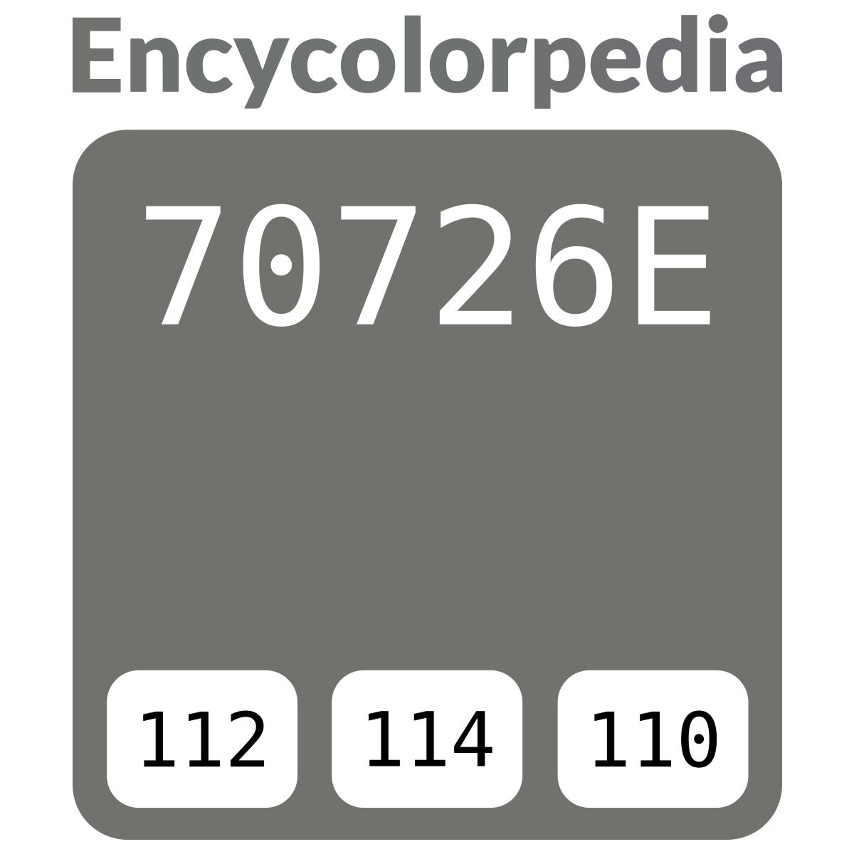 Teinte De Gris Clair afnor gris clair / 1680 / #70726e schémas de couleurs